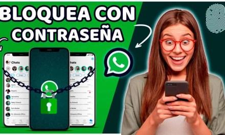 Como BLOQUEAR tu WhatsApp con HUELLA o CONTRASEÑA   Sin Aplicaciones   Super fácil.
