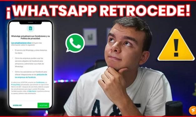 """IMPORTANTE – WhatsApp aplaza la entrada de sus nuevas condiciones de privacidad para aclarar la """"desinformación"""" al respecto"""