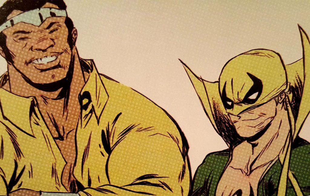 Power Man & Iron Fist - Super. Black.