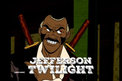 Credit: Adult Swim Jefferson Twilight being slick