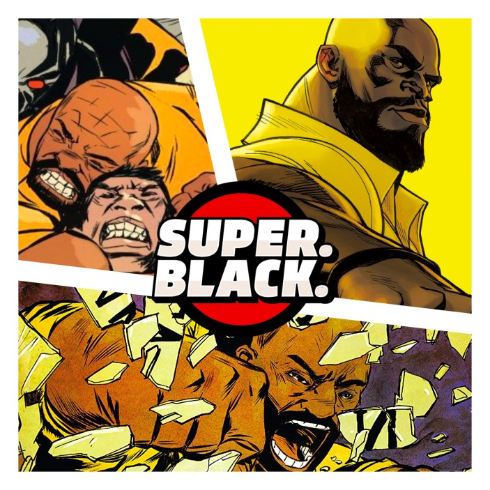 Super. Black. Power Man