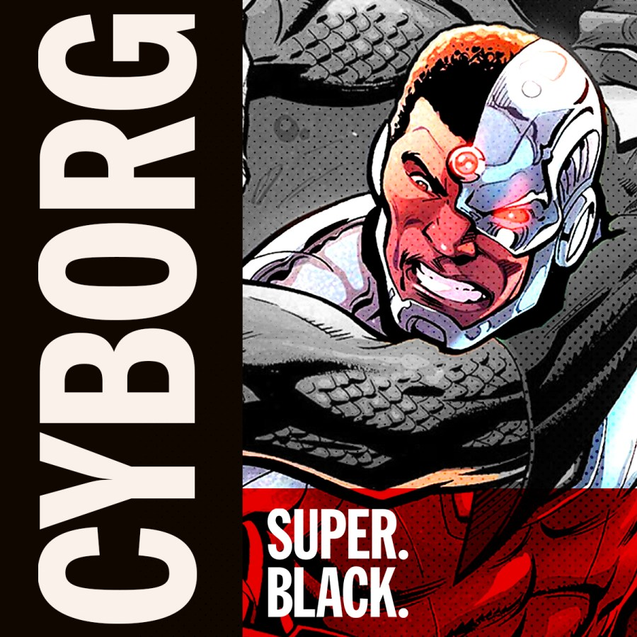 Cyborg - Super. Black.