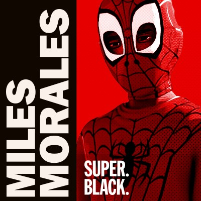 Miles Morales Episode - Super Black.