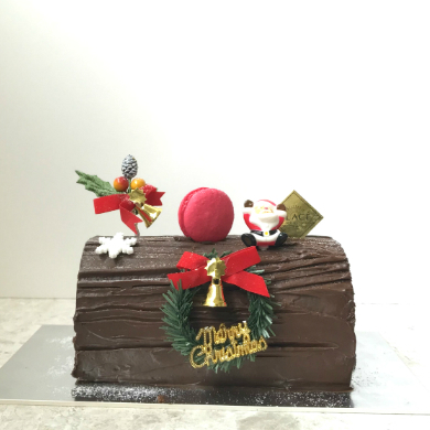 Glace Christmas Log Cake 2018 Chocolate Regalia