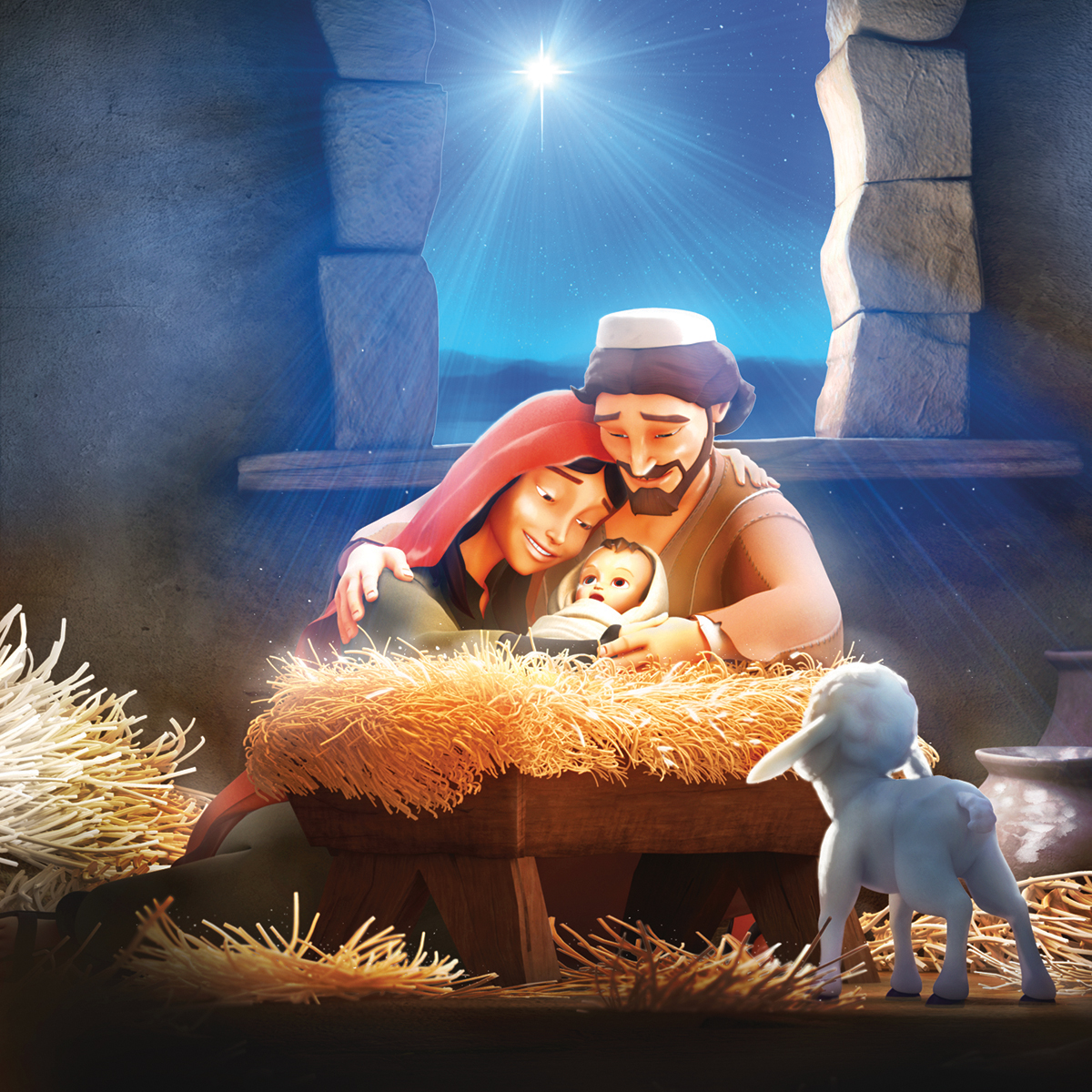 The First Christmas Superbook Academy