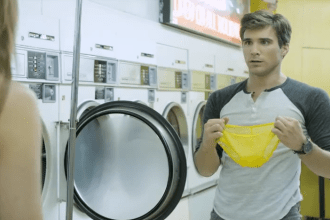 "Speed Stick 2013 Super Bowl XLVII commercial ""Unattended Laundry"""