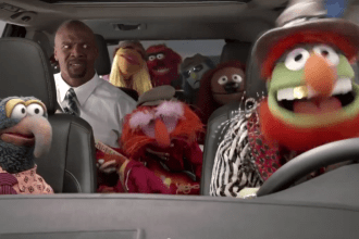 2014 Toyota Highlander Super Bowl ad. Disney's Muppets hit the road with Terry Crews