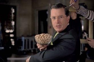 2014 Wonderful Pistachios Stephen Colbert Super Bowl Ad Teaser