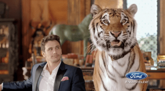 2014 Ford Pre-KIck Super Bowl Ad stars James Franco Saves Ford money