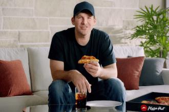 Tony Romo's appearance in Pizza Hut's Super Bowl Sunday Pregame ad campaign.