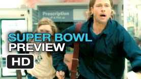"""[VIDEO] Paramount 2013 Super Bowl Ad for """"World War Z"""" with Brad Pitt"""