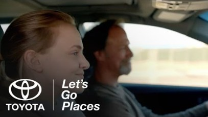 "Toyota Camry 2015 Super Bowl XLIX Ad ""My Bold Dad"""