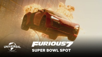 """Universal Pictures 2015 Super Bowl XLIX Ad """"Fast and Furious 7"""""""