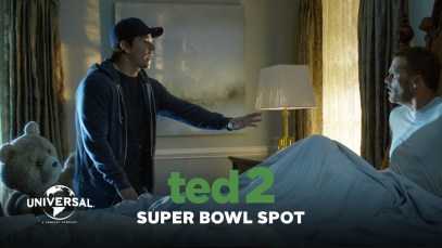 """Universal Pictures 2015 Super Bowl XLIX Ad """"Ted 2"""""""