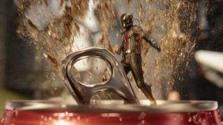 "Coca-Cola Mini 2016 Super Bowl 50 Ad ""Hulk vs. Ant-Man"""