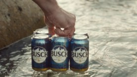 "2017 Busch Beer Super Bowl 51 (LI) TV Commercial ""BUSCHHHHH"""