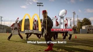 """2017 McDonald's Super Bowl 51 (LI) TV Commercial """"There's a Big Mac for That"""""""