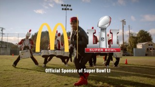 "2017 McDonald's Super Bowl 51 (LI) TV Commercial ""There's a Big Mac for That"""