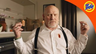 2018 Tide Super Bowl Ad Campaign with Terry Bradshaw and David Harbour