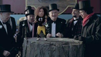 [HD] Exclusive truTV Super Bowl Ad with Troy Punxsutawney Polamalu