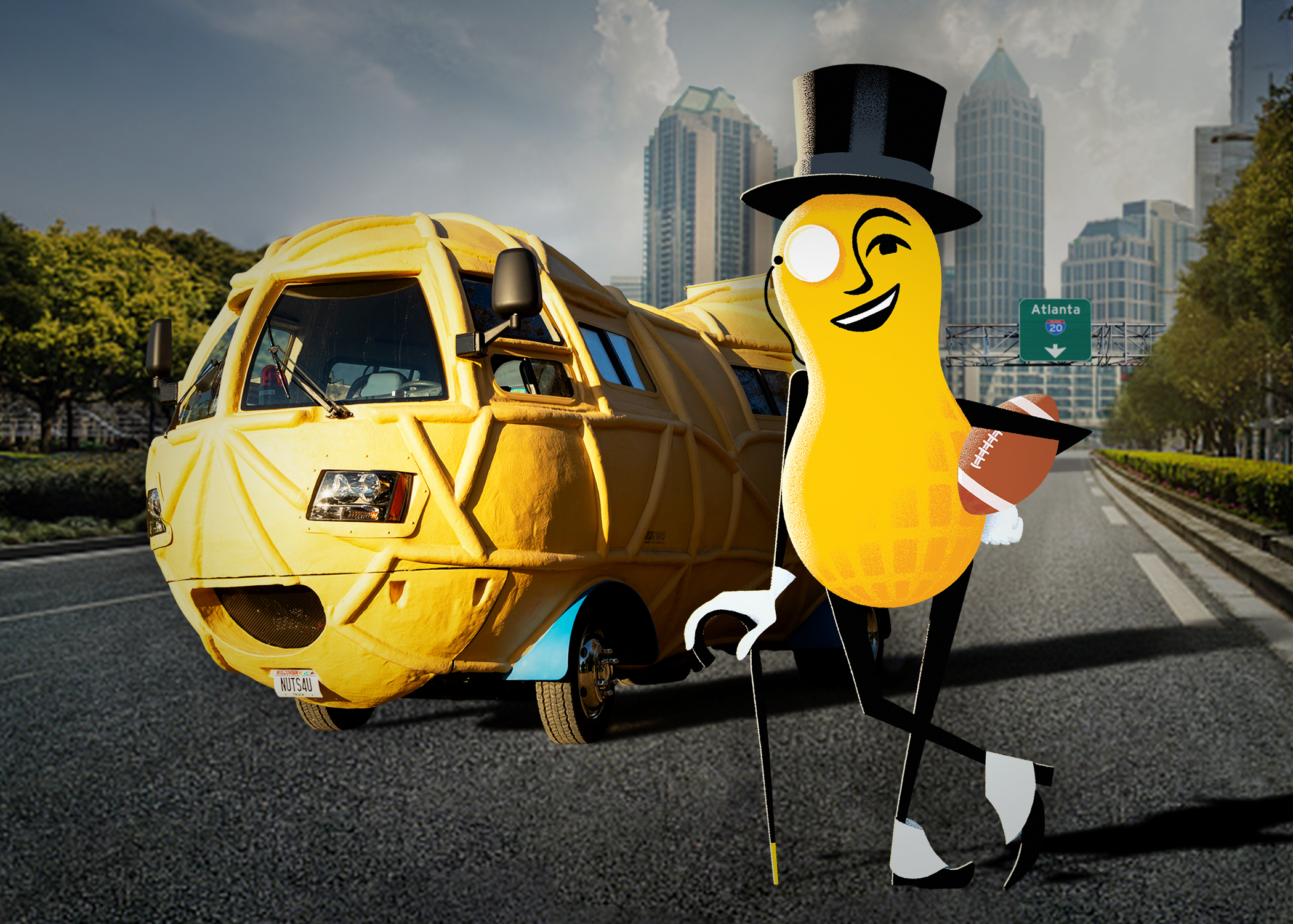 2019 Planters and Devour to Air Super bowl commercials in 2019