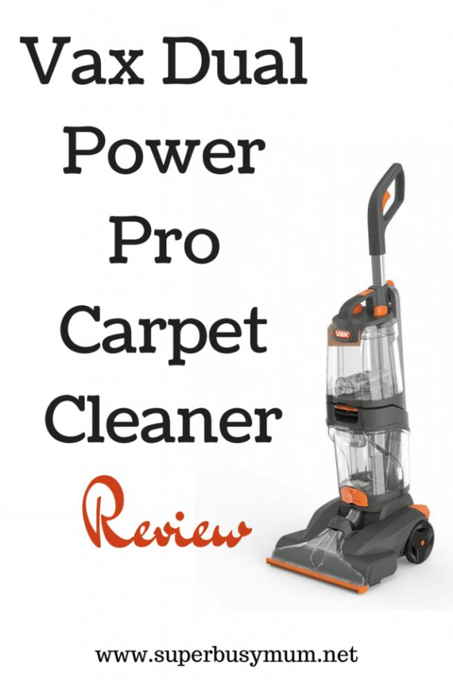 Vax DualPower ProCarpet Cleaner