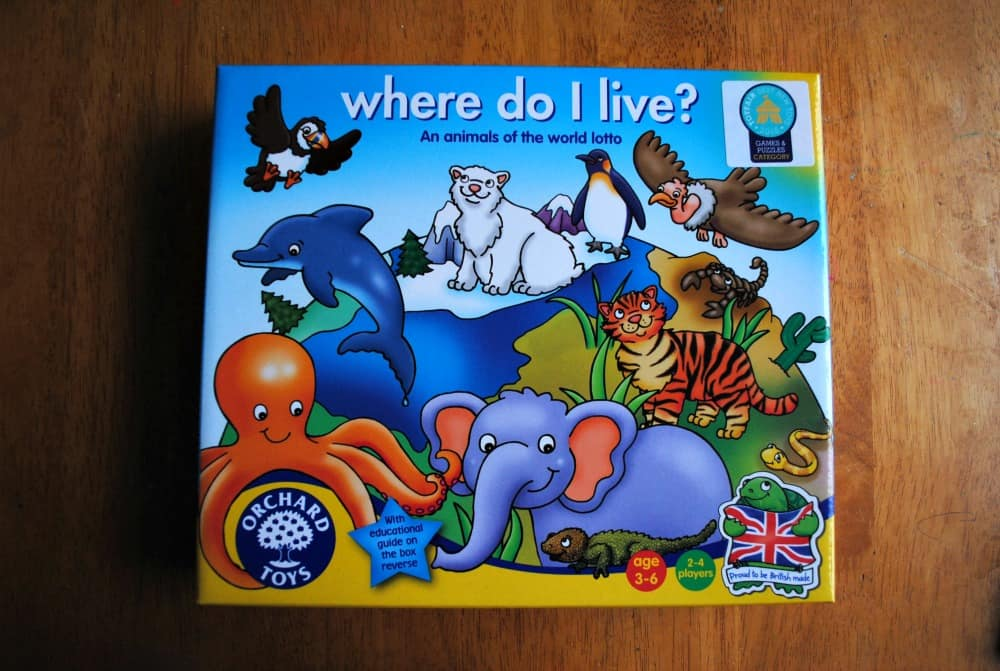 Where Do We Live An Orchard Toys Review Super Busy Mum Game from orchard toys would be perfect for building his knowledge of animal habitats and their inhabitants. orchard toys review