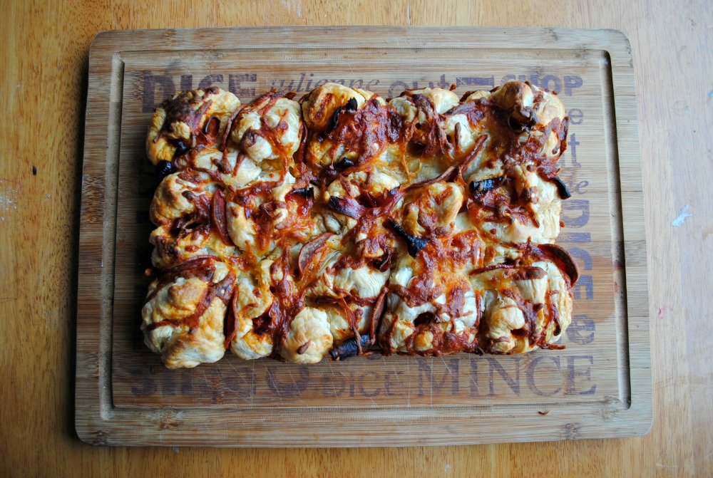 Recipe: Pull apart Pizza Bread