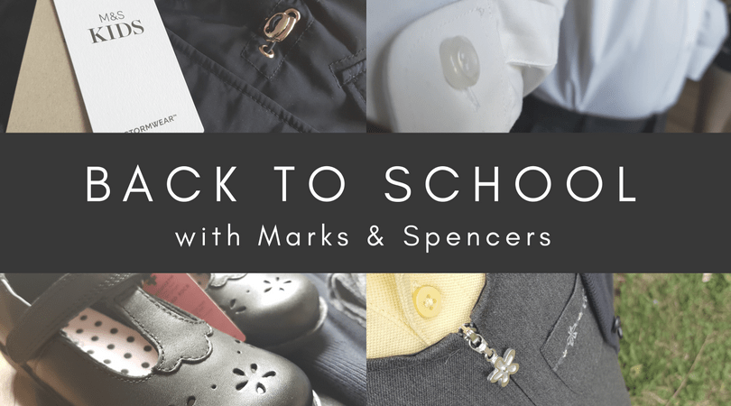 Back to School with Marks & Spencer