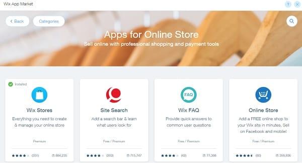 Wix Apps Market - Wix Website Builder
