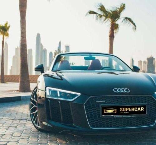 Audi R8 V10 Spyder Rent Dubai