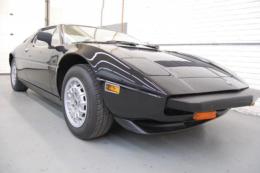 1980 Maserati Merak SS Coupe Black For Sale