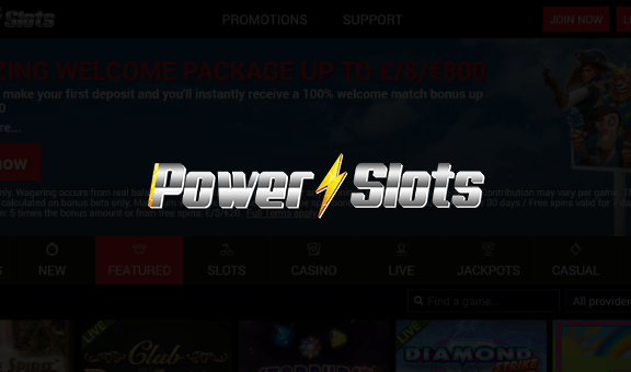 Power Slots Casino - Free Spins No Deposit