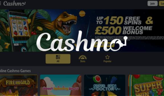 Cashmo Casino - Free Spins No Deposit
