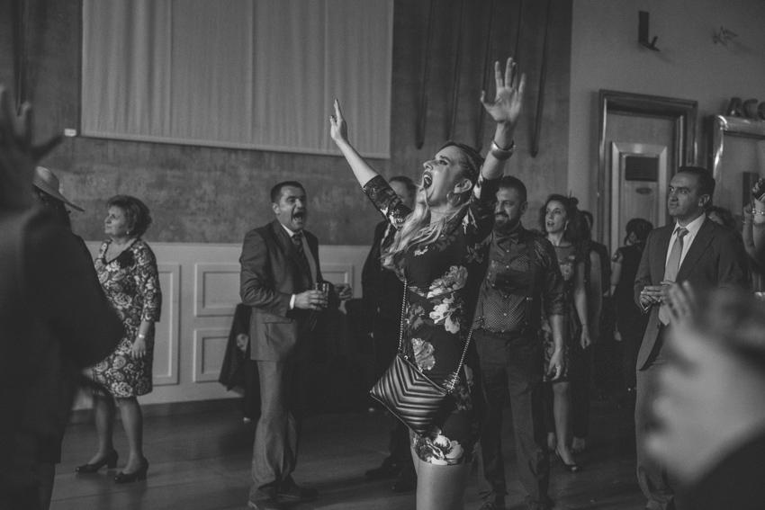Chica bailando en una boda, Supercastizo, Jaen, Hotel ACG