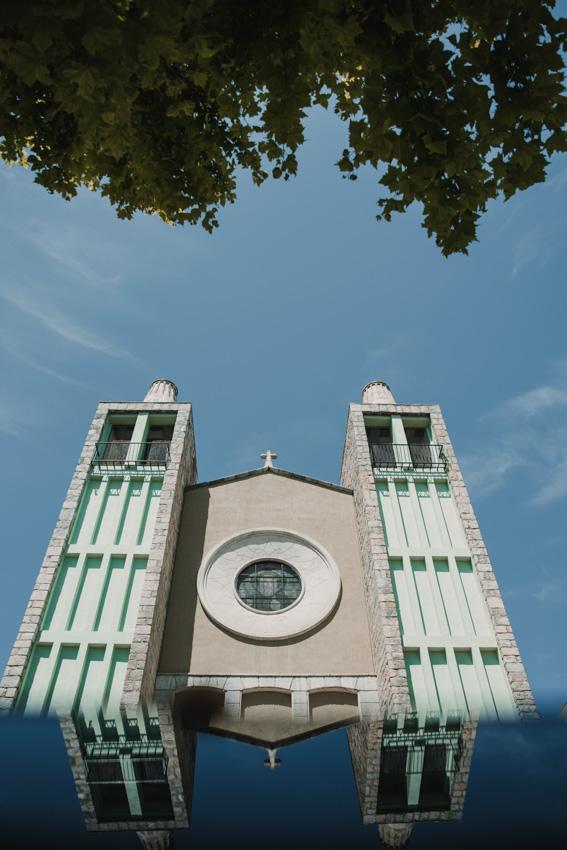 detalle torres iglesia cristo rey