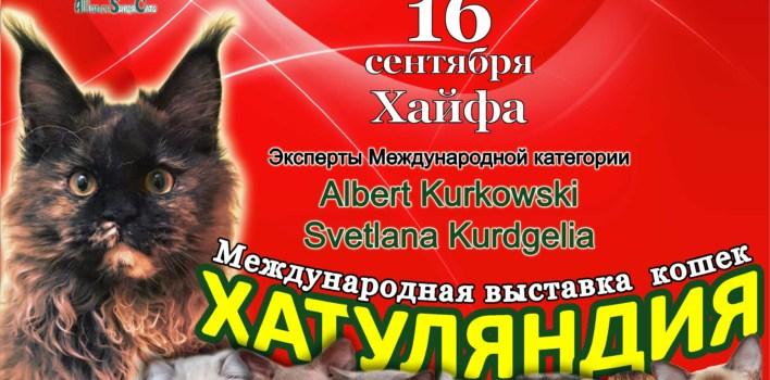 ASC Выставка кошек Хатуляндия. SuperCats-IL