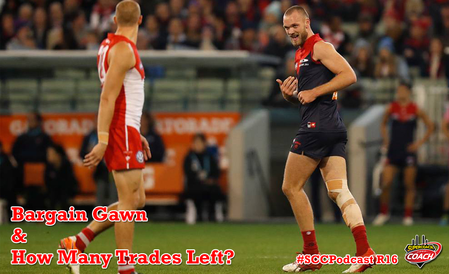 Max Gawn, Alex Witherden & How Many Trades Left #SCCPodcast.2017-R16