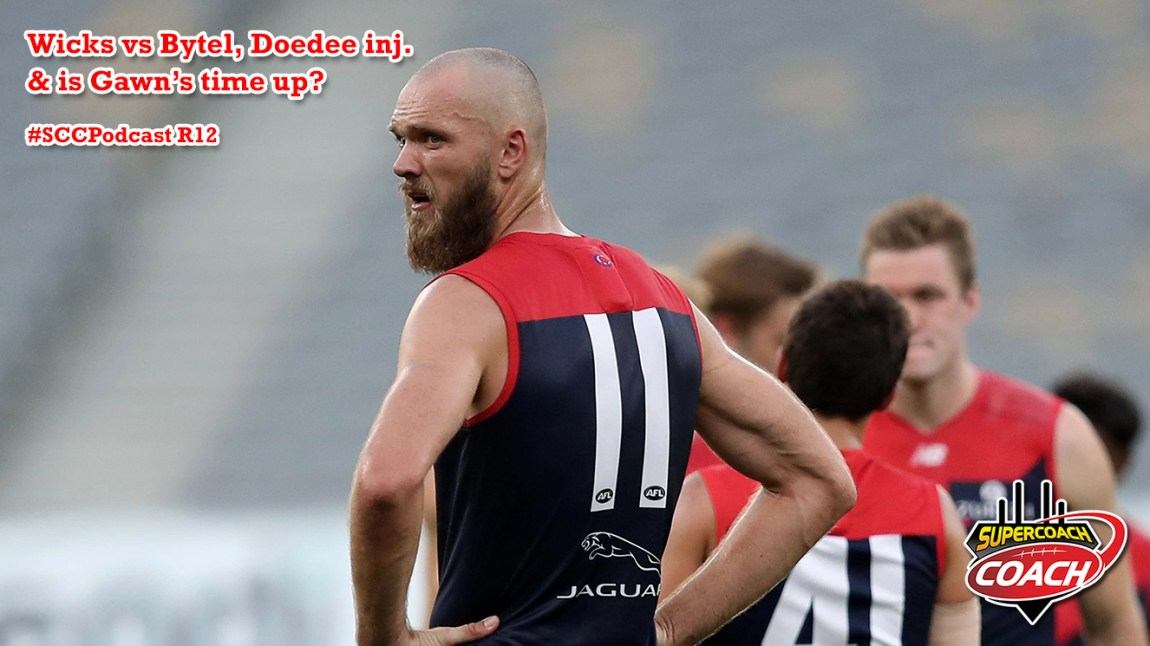 Doedee replacements, Wicks vs Bytel & is Gawn's time up? R12 2020