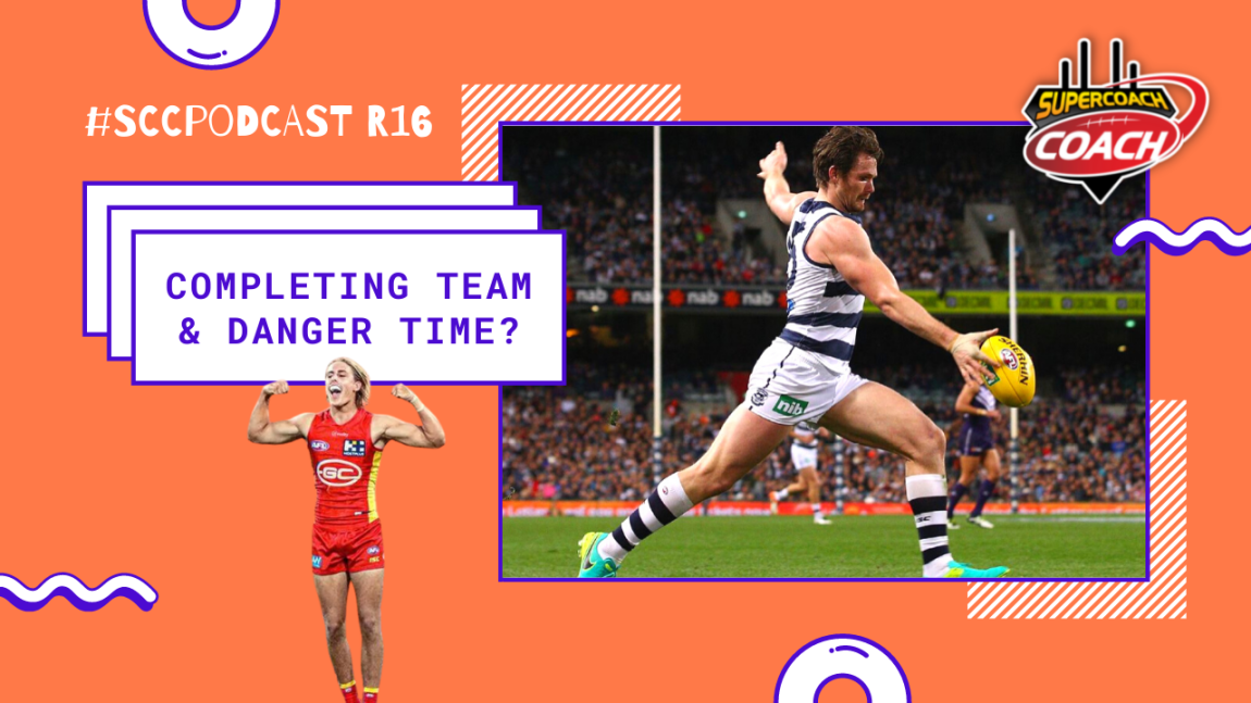 Completing Our Teams & Is It Danger Time? #SCCPodcast R16 2021