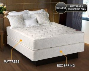Top 15 Best Orthopedic Mattresses in 2018   Super Comfy Sleep Legacy Medium Firm Full Size  54x75x7  Mattress and Box Spring Set   Fully  assembled