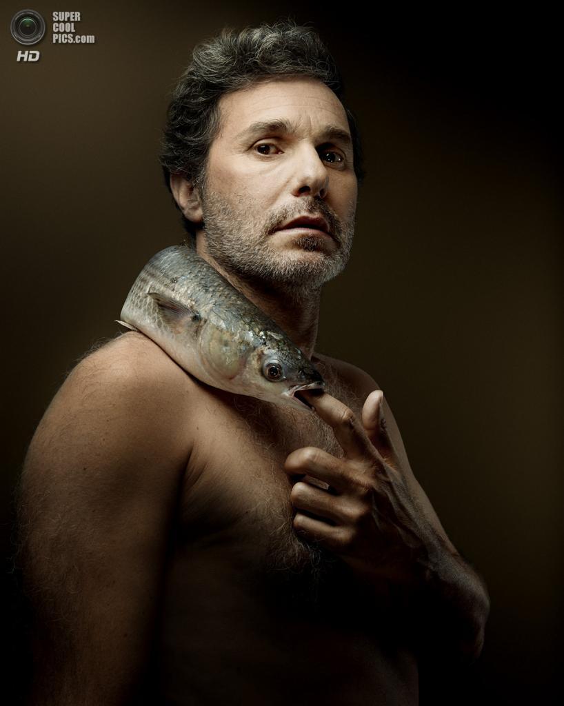 Французский актёр Серж Хазанавичус в проекте «Рыбная любовь». (Denis Rouvre)