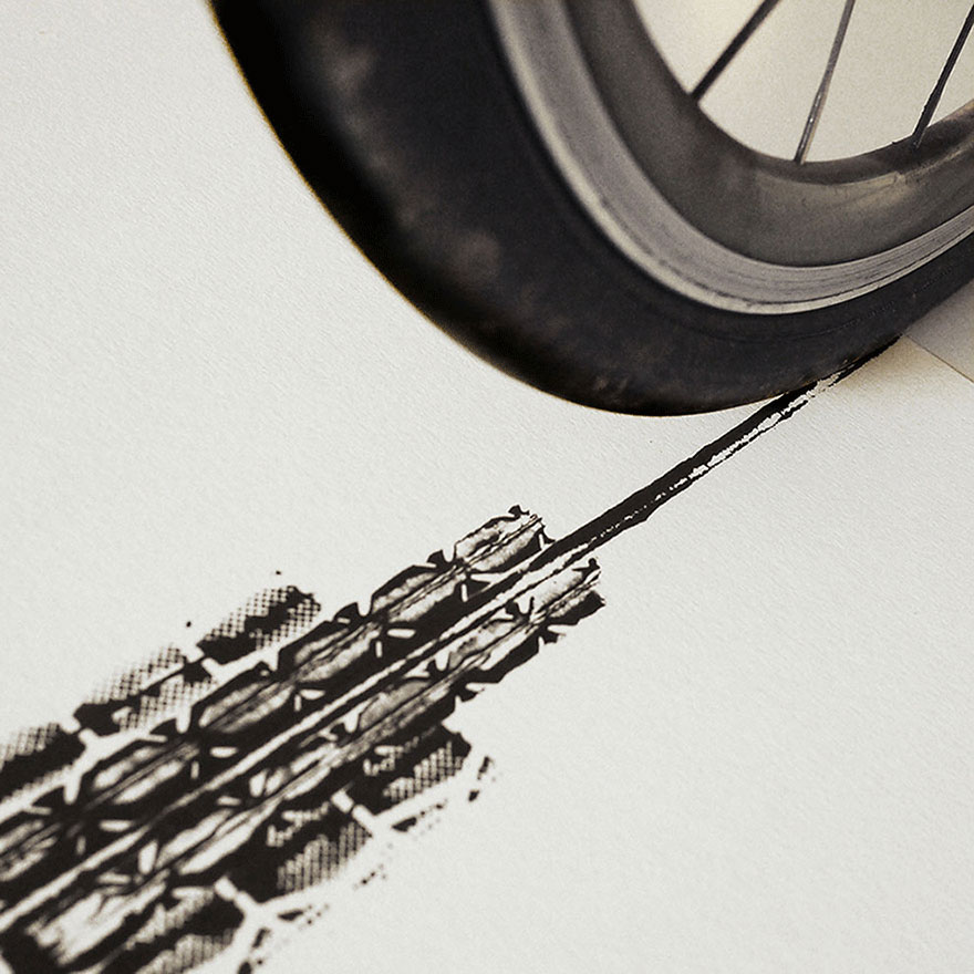 bicycle-tire-tracks-paintings-architectural-landmarks-thomas-yang-100copies-7