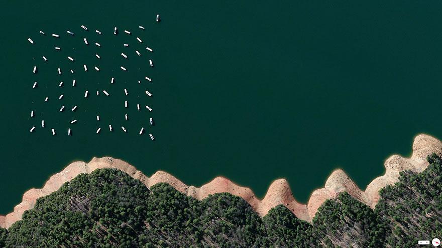 Водохранилище Нью-Буллардс-Бар, Калифорния, США