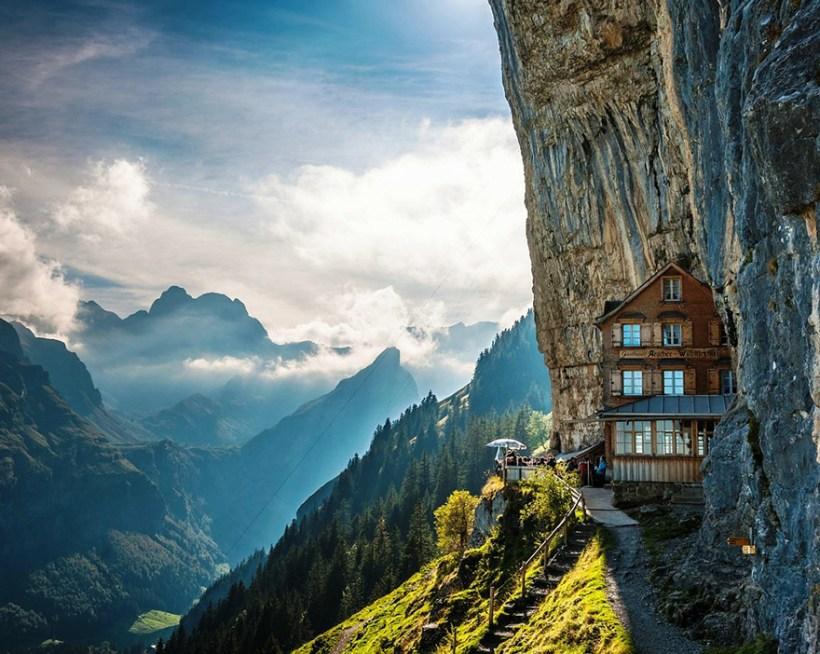 Отель Äscher Cliff, Швейцария