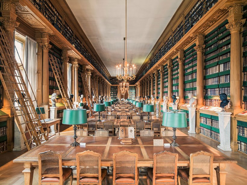 Библиотека Мазарини, Париж