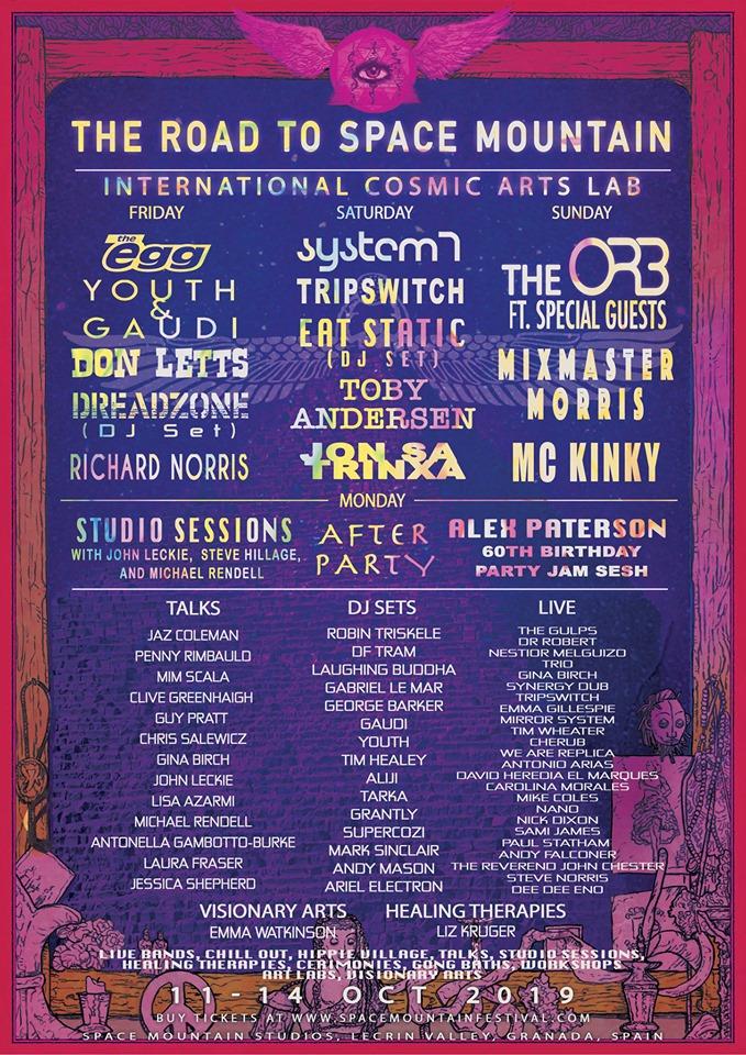 space mountain festival international