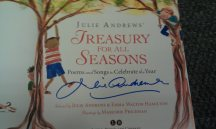 Julie Andrews book signing in NYC (October)