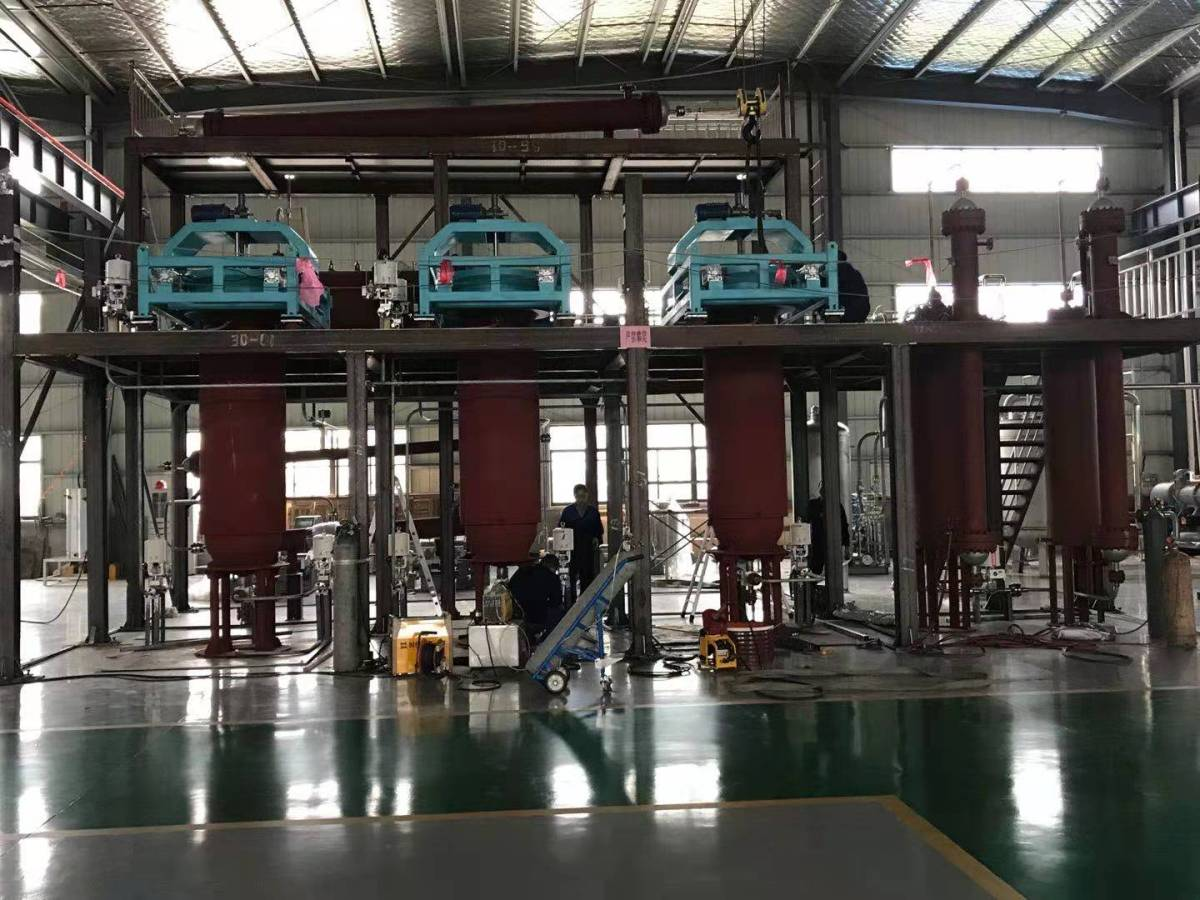 2100l supercritical co2 extraction system