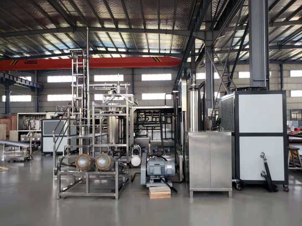 Persimmon leaf essential oil supercritical CO2 extraction machine